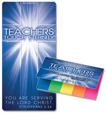 Highlighter Tabs with Bible Reading Guide for Teachers  -