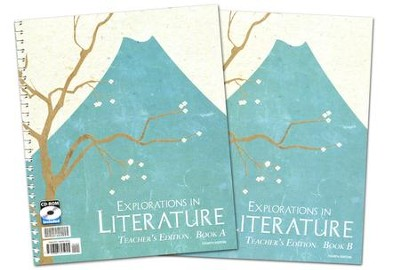 Explorations in Literature (Grade 7) Teacher Edition (2 Vol with CD-ROM  -