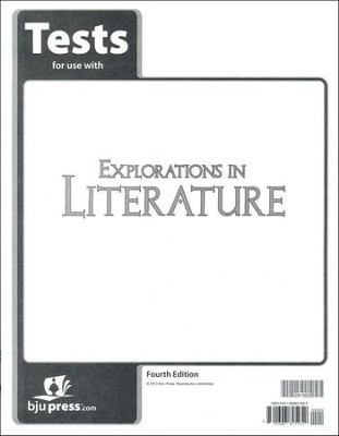 Explorations in Literature (Grade 7) Tests, 4th Edition  -