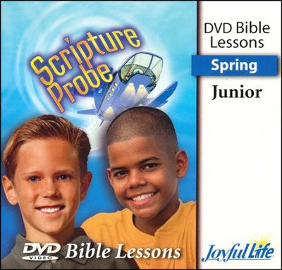 Scripture Probe Junior (grades 5-6) Bible Lesson DVD (Spring Quarter)  -