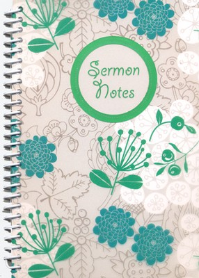 Sermon Notes (Young Woman Design)  -