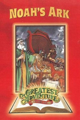 Noah's Ark, The Greatest Adventure: Stories from  the Bible Series, DVD  -