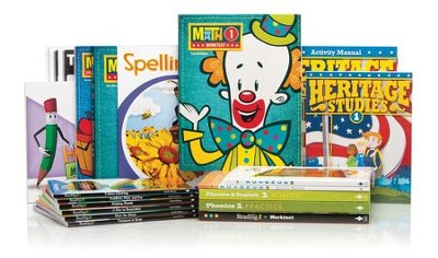 BJU Press Complete Grade 1 Kit, 2013 Edition  -