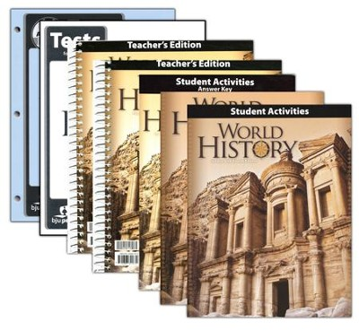 World History Grade 10 Homeschool Kit (4th Edition)   -
