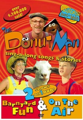 The Donut Man: Barnyard Fun & On The Air, DVD   -