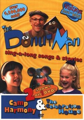 The Donut Man: Camp Harmony & The Celebration House, DVD   -