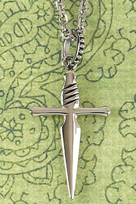 Sword Cross Necklace, Large  -