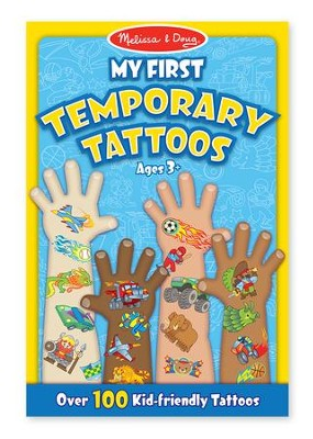 My First Temporary Tattoos - Blue  -
