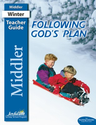 Following God's Plan Middler (Grades 3-4) Teacher Guide   -