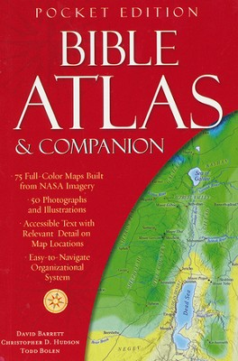 Bible Atlas & Companion: Pocket Edition  -     By: Christopher Hudson, David Barrett, Todd Bolen