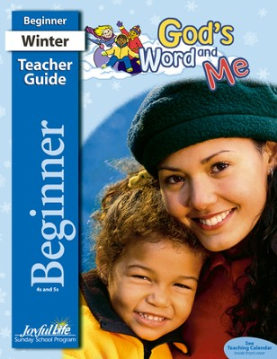 God's Word and Me Beginner (ages 4 & 5) Teacher Guide   -