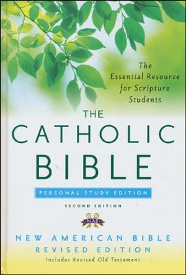 Catholic Bible, Personal Study Edition, NABRE   -
