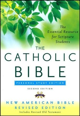 The New American Bible, Catholic Study, Personal,  Second Edition  -