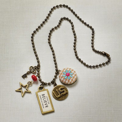 Believer, Dreamer Tag Necklace  -