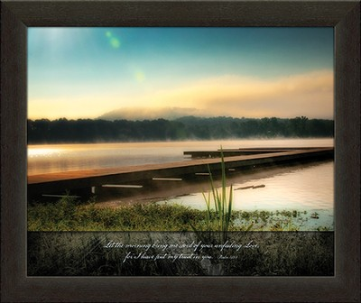 Let the Morning Bring Me Word Framed Art  -     By: Danny Head