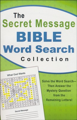 Secret Message Bible Word Search Collection  -