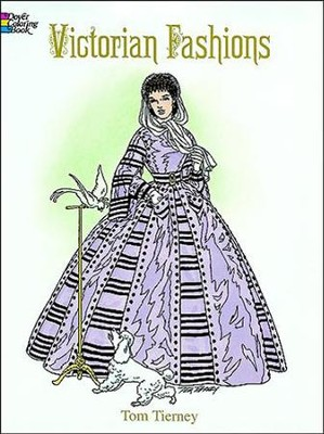 Victorian Fashions Coloring Book  -     By: Tom Tierney