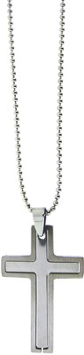 Cross Puzzle Necklace Large  -