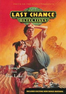 Last Chance Detectives #3: Escape From Fire Lake  -