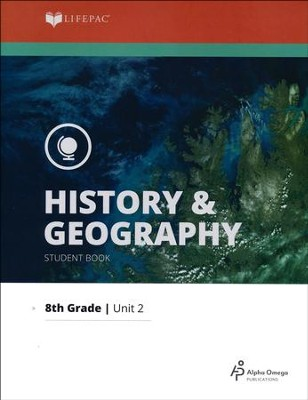 Lifepac History & Geography Grade 8 Unit 2: British America   -