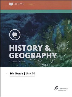 Lifepac History & Geography Grade 8 Unit 10: Recent America and Review  -