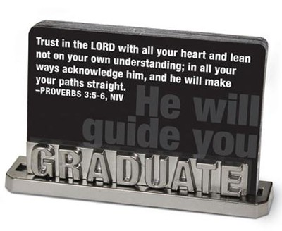 Graduate Scripture Card Holder  -