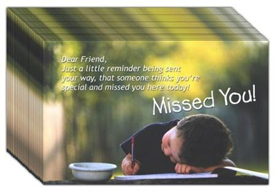 Missed You, Postcards, 25   -