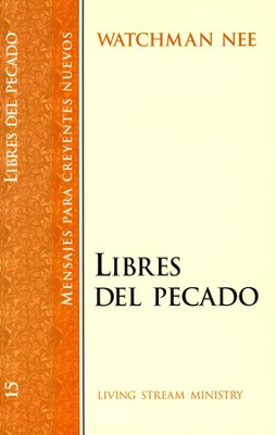 Libres del Pecado, SNC#15 / Deliverance, NBS#15 - Spanish  -     By: Watchman Nee