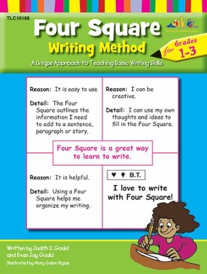 Four Square Writing, Grades 1-3   -