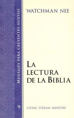 Reading the Bible (Spanish)   -     By: Watchman Nee
