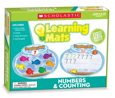 Numbers & Counting Learning Mats  -