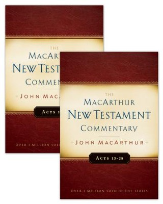 Acts 1-28 MacArthur New Testament Commentary Two Volume Set / New edition - eBook  -     By: John F. MacArthur