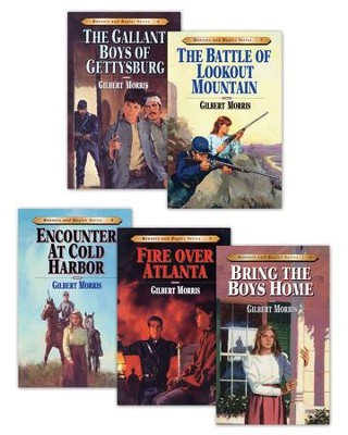 Bonnets and Bugles Series Books 6-10 / New edition - eBook  -     By: Gilbert L. Morris