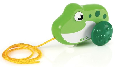 Pull Along Frog  -