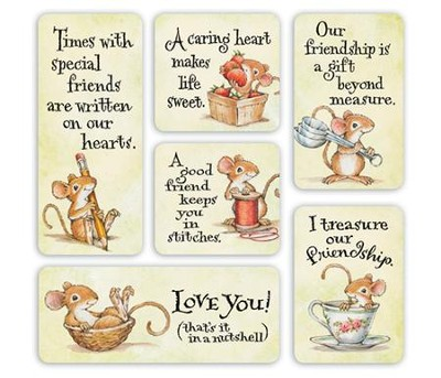 Mice Magnets, Set of 6  -