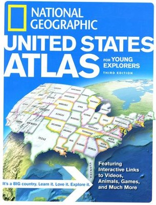 National Geographic United States Atlas for Young Explorers, Third Edition  -     By: National Geographic