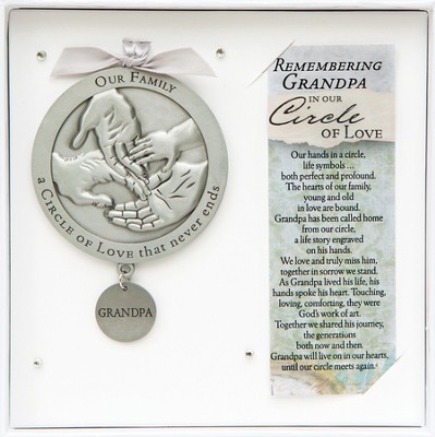 Grandpa Circle of Love Memorial  -
