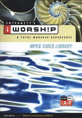 iWorship MPEG Video Library: Volumes A - F  -