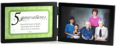 5 Generations Photo Frame  -