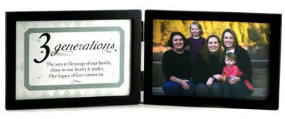 3 Generations Photo Frame  -