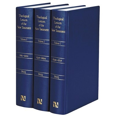 Theological Lexicon of the New Testament, 3 Volumes  -     Edited By: Ceslas Spicq     By: Ceslas Spicq, ed.; James Ernest, trans.