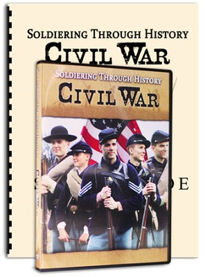 Soldiering Through History: Civil War Kit (DVD &  Study Guide)  -