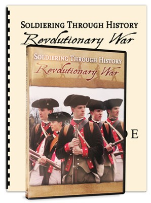 Soldiering Through History: Revolutionary War Kit (DVD & Study Guide)  -