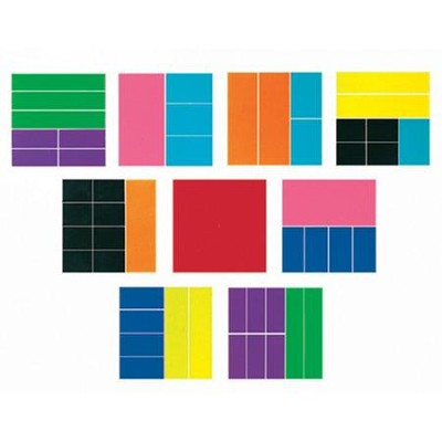 Deluxe Fraction Squares (set of 51)   -