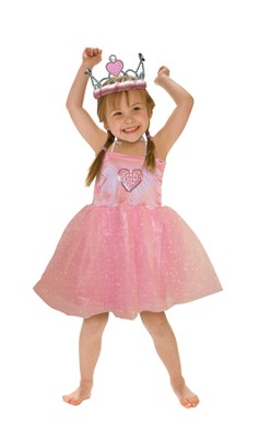 God's Little Girl Princess Costume (Size 2-4)   -