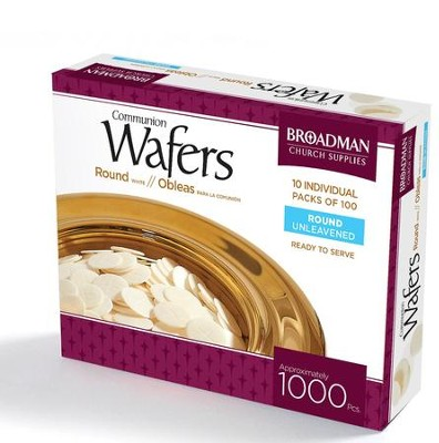Communion Wafers, 1000 Pieces   -