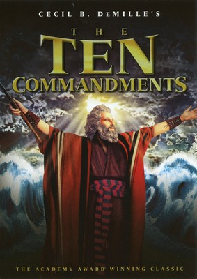 The Ten Commandments, DVD   -
