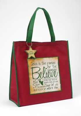Believe Tote Bag  -     By: Miriam Hahn