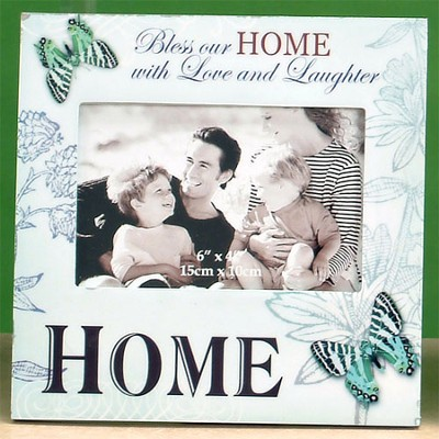 Bless Our Home Photo Frame  -