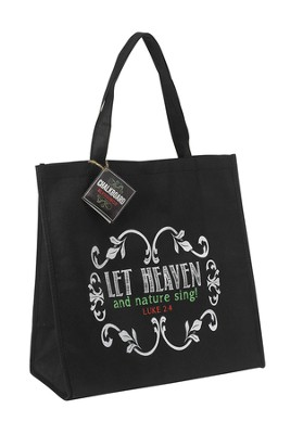 Let Heaven and Nature Sing, Tote Bag  -     By: Miriam Hahn